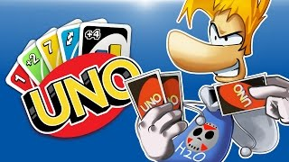 getlinkyoutube.com-UNO - RAYMAN DLC DECK! First to 200 Points! (Teams)