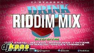 getlinkyoutube.com-Drink Up Riddim Mix ft Vybz Kartel, Beenie Man, Mavado, I-Octane &More| TJ Records Oct 2014