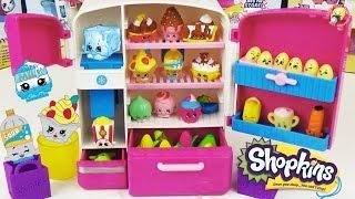 getlinkyoutube.com-Шопкинс игровой набор Холодильник Эксклюзивные фигурки / Shopkins So Cool Fridge Refrigerator Toy
