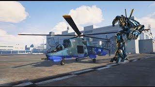 getlinkyoutube.com-GTA V PC - Autobot Drift Helicopter Mode (Transformers 4)