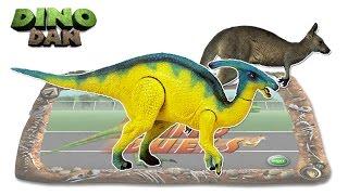 getlinkyoutube.com-DINO DAN  DINO DUELS # 7 : Parasaurolophus  VS. Kangaroo