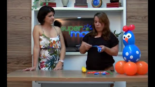 Aprenda a fazer GALINHA PINTADINHA com balões no Super Mais!