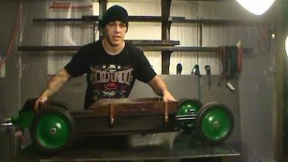 getlinkyoutube.com-SoMuch Flyer, Lowrider Radio Flyer wagon