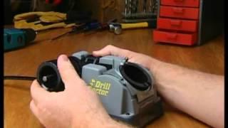 getlinkyoutube.com-Bohrer schleifen mit dem Drill Doctor 500X / 750X
