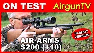 REVIEW: New Air Arms S200 10-shot PCP Air Rifle