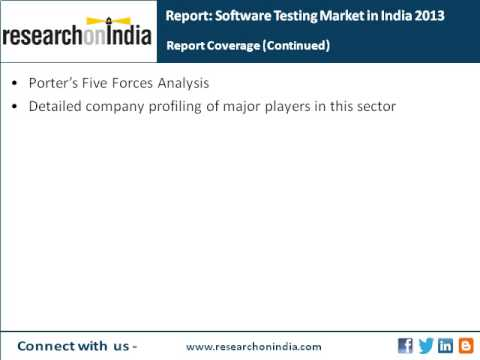 ResearchonIndia : Software Testing Market in India 2013