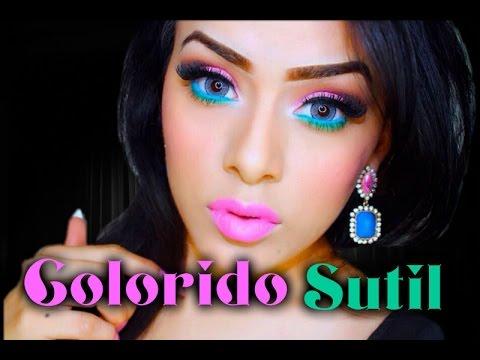 Maquillaje Sutil Colorido