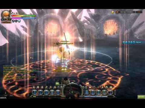 Dragon Nest CN - 74% Light Atk Inquisitor Solo Cerb Hell Nest