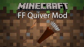 getlinkyoutube.com-Minecraft Mod รีวิว - Mod ธนูกับซองใส่ลูกธนู | FF Quiver Mod [1.8]