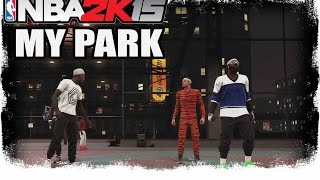 getlinkyoutube.com-NBA 2K15 My Park - THE 3RD REMATCH! -  NBA 2K15 My Park 2 on 2 Gameplay