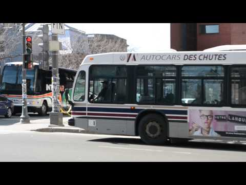 Quebec City RTC Novabus Classics LFS Action - Intercar Prevost Coach