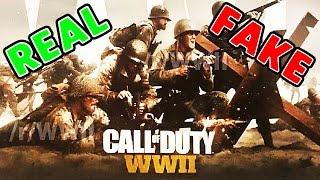 Call of Duty: WW2 - 5 Reasons It's REAL vs 5 Reasons It's FAKE (COD WORLD WAR 2)