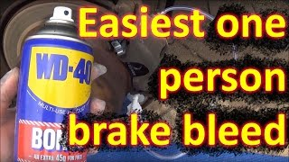 getlinkyoutube.com-How to BLEED BRAKES by one person