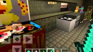 getlinkyoutube.com-Minecraft pe 0.11.0 fnaf 3 mod alpha ★100 subs★