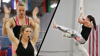We Trained To Be Gymnasts In 7 Days width=