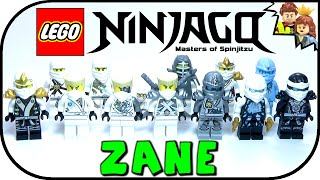 LEGO Ninjago Zane Minifigure Collection 2015