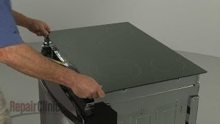 getlinkyoutube.com-Kenmore Electric Range/Stove Replace Glass Cooktop #318223684