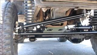 getlinkyoutube.com-Jeep Grand Cherokee 4x4 Project ZJ Part 52 4.88 Gears Detroit TrueTrac Trac Lok Steering Winch Armor