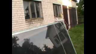 getlinkyoutube.com-Tani Kolektor słoneczny domowej roboty za 200zł pln Jak zrobić kolektor z odpadów