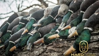 getlinkyoutube.com-Frozen Sheetwater Duck Hunting: Hard Core Waterfowl TV Episode 4