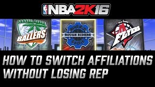 getlinkyoutube.com-NBA 2K16 PS4 How To Switch Parks Without Losing Rep #NBA2K16