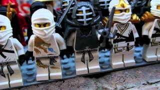 getlinkyoutube.com-My entire Lego Ninjago Collection with all 5 dragons Review