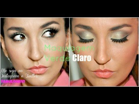Maquiagem Verde Claro por FabulousVi