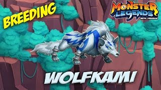 getlinkyoutube.com-Monster Legends - How to get Wolfkami (NOT BREEDING) + Combat