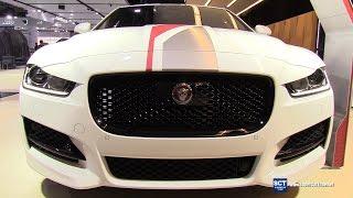 getlinkyoutube.com-2017 Jaguar XE R-Sport - Exterior and Interior Walkaround - 2017 Montreal Auto Show