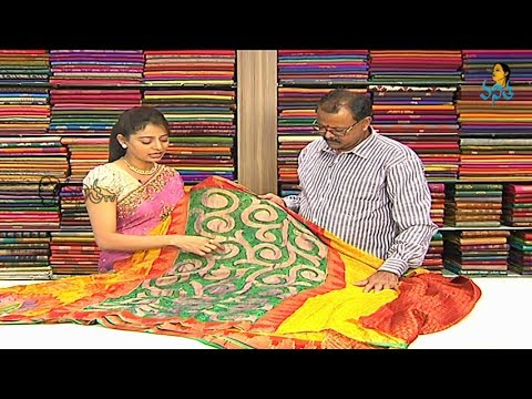 Lightweight Fancy and Pattu Sarees with Price | Sogasu Chuda Tarama_4-12-2013 | Vanitha TV