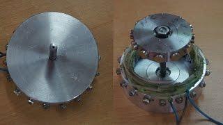 getlinkyoutube.com-Самодельный маленький генератор Homemade small generator