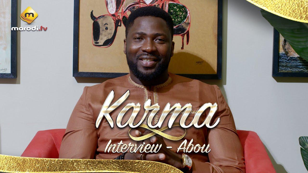 Abou de la série Karma s'étale - L'interview