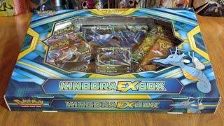 Pokemon Kingdra EX Box Opening