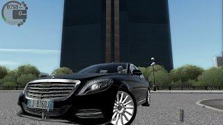 getlinkyoutube.com-City Car Driving 1.5.2 Mercedes S500 W222 [G27]