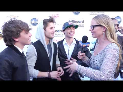 Emblem3 Talks Selena Gomez & Ed Sheeran Meeting - 2013 Billboard Music Awards Interview