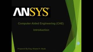 getlinkyoutube.com-Ansys 2016 tutorial General introduction | Solidworks 16 Vs ansys 16