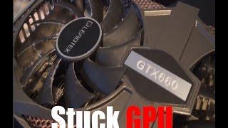 getlinkyoutube.com-Jammed Graphics Card Fan DIY Fix