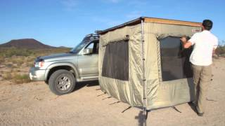 getlinkyoutube.com-Camping Essentials: ARB Awning Enclosed Room