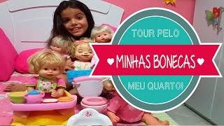 getlinkyoutube.com-Tour Pelo Meu Quarto - Minha Coleção de Baby Alive