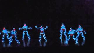 getlinkyoutube.com-Танцы в светодиодных костюмах