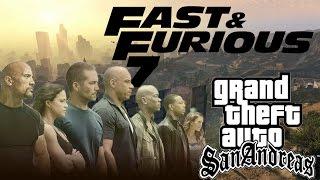 getlinkyoutube.com-Fast and Furious 7 Trailer [GTA San Andreas Version 2015]
