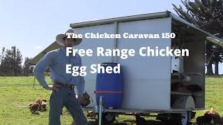 getlinkyoutube.com-The Chicken Caravan 150 - free range chicken egg shed