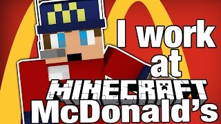 getlinkyoutube.com-Minecraft | I WORK AT MCDONALD'S! | Order Up Game - Fast Food Roleplay