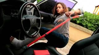 ZUZU DRIVING IN SLWC HOPPING CRUTCHING LLWC PINK LLC