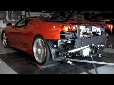 UNDERGROUND RACING 1000 HP TWIN TURBO FERRARI F430 SPIDER