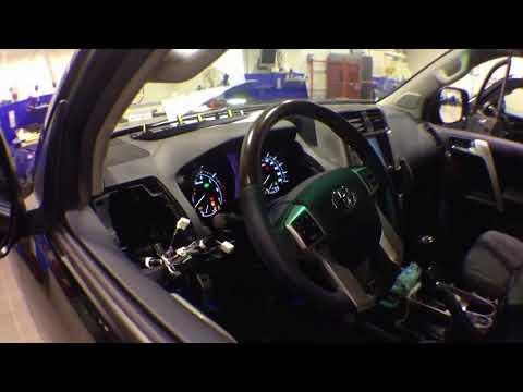 Avto-zapusk.ru Автозапуск без ключа Toyota LC Prado 150 PTS 2012+Fortin EVO-ALL