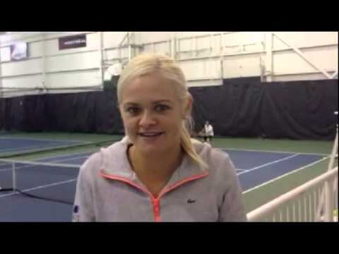 Eugenie Bouchard and Aleksandra Wozniak invite fans to 2014 Fed Cup in Montreal