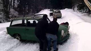 Trabant winter RALLY
