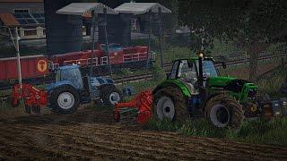 Let's Play Farming Simulator 2015 #43 Zgłęboszowali my pole, będzie zboże że...