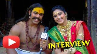 getlinkyoutube.com-Devdatta Nage, Surabhi Hande - Candid Interview - Jay Malhar- Khanderaya & Mhalsa-Zee Marathi Serial